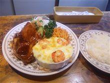 大熊町『峰』Aランチ630円