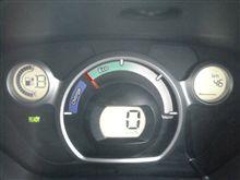 フル充電でも走行可能距離計 なななんと表示46Km!!??