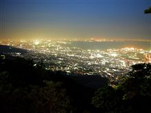 1000万ドルの夜景に『きらきら小径』@摩耶山より~♪+発掘!新・柑橘麺道
