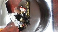 瑠璃庵のクリスマスケーキ