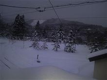 雪国に来てます
