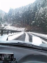 真っ白な道。こりごり