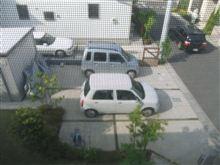 2台のない車庫