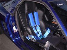 ノーマルシート改セミバケットシートと4点式シートベルトの街乗りインプレッション