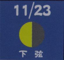 月暦 12月28日(火)