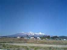 今日は八ヶ岳