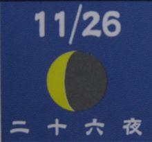 月暦 12月31日(金) 大晦日