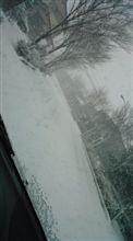 吹雪の大晦日