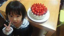 次女YON歳の誕生日