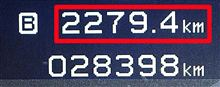 2010年12月分の走行距離数・・・