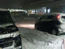 また雪が降り出しました~