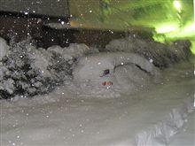 年末年始は大雪