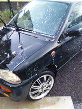 洗車ちう~~~~~