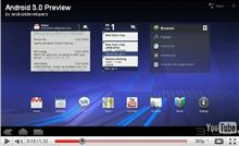 Google、Android 3.0(Honeycomb)を初披露
