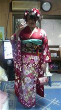 2011年 娘の成人式!^^