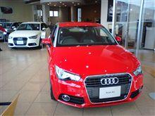 Audi A1 見てきた