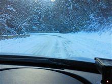 今シーズン、初雪
