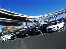 Audi大黒オフ参加'11.01