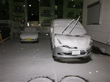 またまた雪っ!!