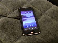 auのスマートフォンIS03に買換^^