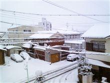 東海地方大雪! オートサロン組がピンチ!!