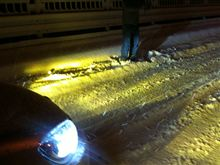 奈良県 SPEECARS 様 雪道でSMART HID最高です!!
