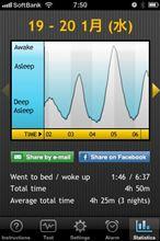 Sleep Cycle Alarm Clock (iPhone用アプリ)