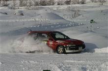 北海道ブリザードラリー、路面と車と格闘中のインカー動画です(  ゚∀゚) SS1&2編
