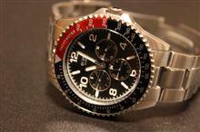生涯9つ目の腕時計