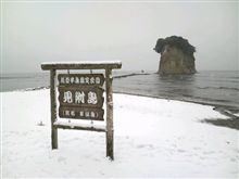 冬の軍艦島
