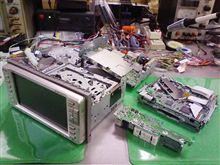 トヨタ純正、DVDナビ、AVIC-XD8067ZT、NDP-W51R。