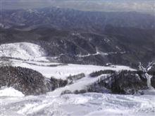 めいほうスキー場で滑ってきた