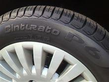 タイヤ交換【Cinturato P6】