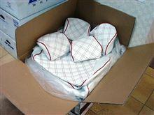 大阪オートメッセ2011出展車両用シートカバー(^^)/