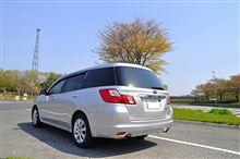 レビューその3:トランク容量とエンジン エクシーガ2.0i AWD A型(2009) レポート