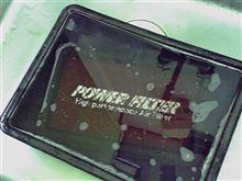 モンスターパワーフィルター清掃