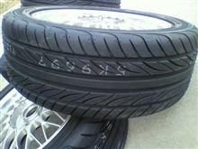 新しいタイヤは気分良い