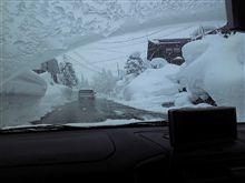 豪雪の湯沢。