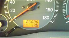 もう66,000kmになった・・・