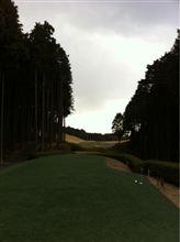 今日のゴルフは…。