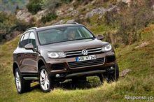 VW トゥアレグ 新型発表
