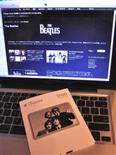 BEATLESのiTunesカード