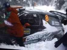 Kimi Raikkonen @ Rally Sweden 2011