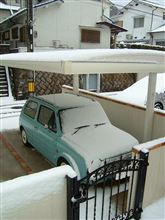 朝から雪・ゆき・ユキ