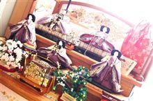 2011 ひな壇飾り