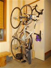 自転車ハンガー?