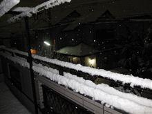 期待外れの大雪