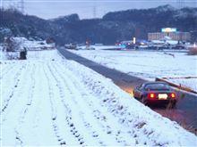 '11.02.15 大阪では珍しい積雪