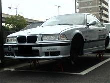 車高短調整(-_-;)