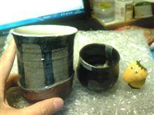 手焼きのカップ♪